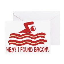 findingbacon Greeting Card