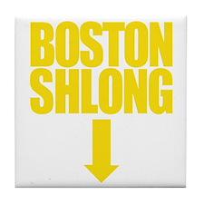 BOSTON SHLONG Logo Tile Coaster