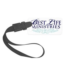 blm logo Luggage Tag