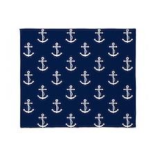 Anchors Throw Blanket