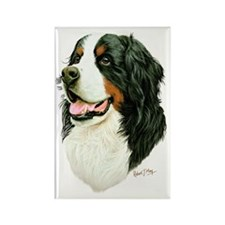 Bernese Mountain Dog Rectangle Magnet