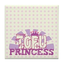 Tofu Princess Polka Dot Tile Coaster