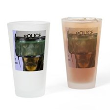Rottweiler Police Birthday by Focus Drinking Glass