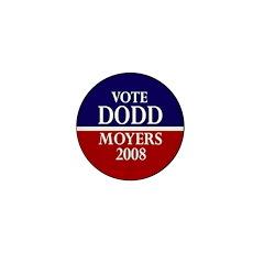Dodd-Moyers 2008 Mini Button