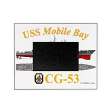 CG-53 USS Mobile Bay Picture Frame