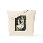 Ophelia & Beagle Tote Bag