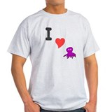 I (heart) octopus T-Shirt