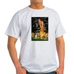 Fairies and Beagle Light T-Shirt