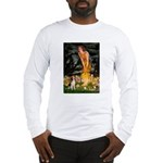 Fairies and Beagle Long Sleeve T-Shirt