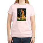 Fairies and Beagle Women's Light T-Shirt