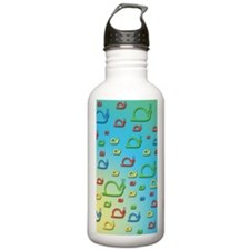 Colorful snails Water Bottle