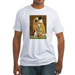 The Kiss & Beagle Fitted T-Shirt