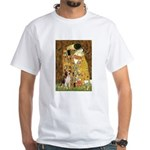 The Kiss & Beagle White T-Shirt