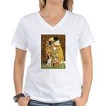 The Kiss & Beagle Women's V-Neck T-Shirt