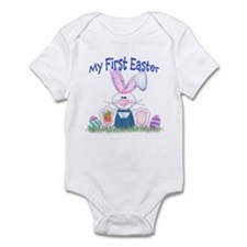 Boy first Easter Bunny! Onesie