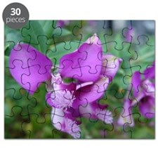 Purple Flower Puzzle