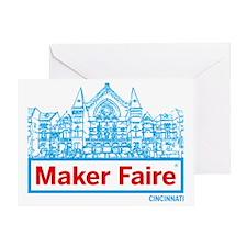 Cincinnati Maker Faire Greeting Card