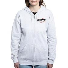 I Wear the White Hat Women's Zip Hoodie