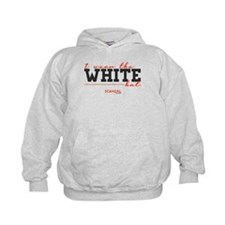 I Wear the White Hat Kids Hoodie