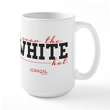 I Wear the White Hat Large Mug