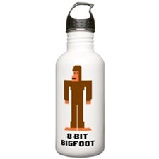 8-Bit Bigfoot Water Bottle