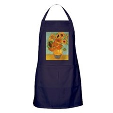 Vase with 12 Sunflowers by Vincent va Apron (dark)