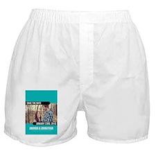 84-bluebanners Boxer Shorts