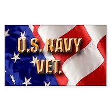 usa navy vet Decal