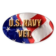 usa navy vet Decal