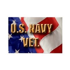 usa navy vet Rectangle Magnet