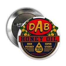 "DAB Honey Oil 710 2.25"" Button"