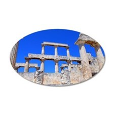 The temple of Athena Aphaea  Wall Decal