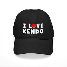 I Love Kendo Martial Arts Designs Baseball Hat