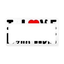 I Love Lucha Libre Martial Ar License Plate Holder