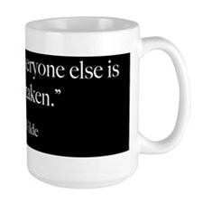 Be Yourself - Oscar Wilde Quot Mug