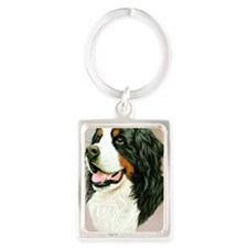 Bernese Jewel 1 Portrait Keychain