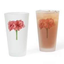 Amaryllis Drinking Glass