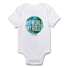 My World My Rules Infant Bodysuit