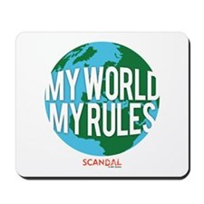 My World My Rules Mousepad