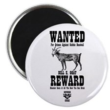 "Wanted - The Goat 2.25"" Magnet (10 pack)"