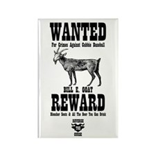 Wanted - The Goat Rectangle Magnet