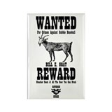 Wanted - The Goat Rectangle Magnet (100 pack)