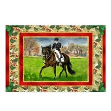 Alter Real Horse Christma Postcards (Package of 8)