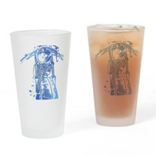 Cafe Racer Motorcycle Drinking Glass