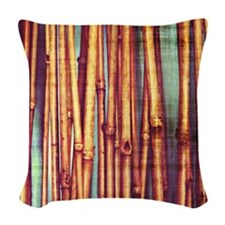 Reeds Woven Throw Pillow