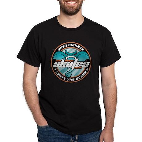San Diego Skates Hockey Magnet Dark T-Shirt