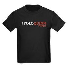 #YOLOQUINN Kids Dark T-Shirt