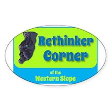Rethinker Corner of the Western Slo Decal