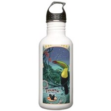 Art Nouveau Toucan Water Bottle