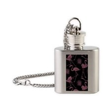 Flamingos Flask Necklace